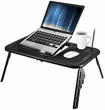 Adjustable Laptop Table, Portable Folding Laptop