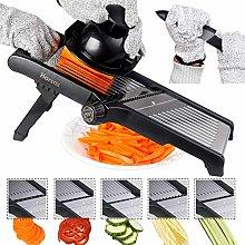 Adjustable Mandoline Food Slicer by Harcas. Best
