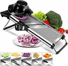 Adjustable Mandoline Food Slicer Stainless Steel