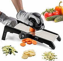 Adjustable Mandoline Thickness Food Slicer -