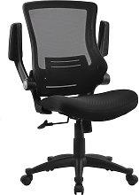 Adjustable Office Chair Back Support Swivel Flip