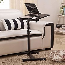 Adjustable Portable Lazy Table Desk Stand Rolling