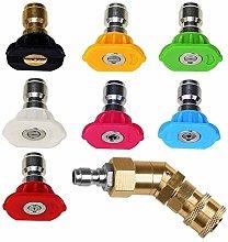 Adjustable Pressure Washer Accessories Kit,7 Power