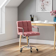 Adjustable PU Leather Office Computer Desk Chair