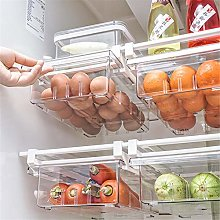 Adjustable Refrigerator Organizer, Drawer Basket,