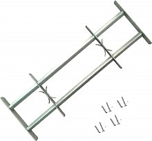 Adjustable Security Grille for Windows with 2