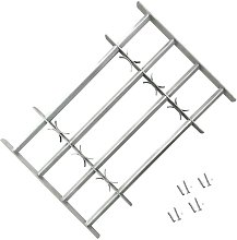 Adjustable Security Grille for Windows with 4