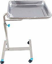 Adjustable Stainless Steel Stand Tray Medical