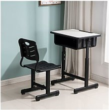 Adjustable Students Children Desk and Chairs Set