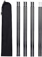 Adjustable Tent Poles(8 Sections), 19.6 inch