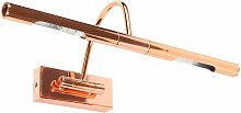 Adjustable Twin Picture Wall Light - Copper