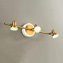 Adjustable Vanity Lighting Fixture LED Bathroom