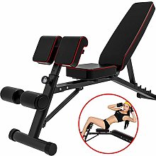 Adjustable Weight Bench - Foldable Fitness Bench