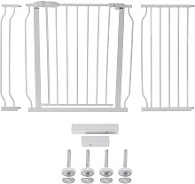 Adjustable Wide Baby Kids Pet Safety Security Gate