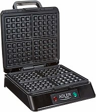 Adler Waffle Maker with 1300 W Power AD 3036,