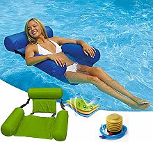 ADLOASHLOU Swimming Inflatable Lounger Swimming