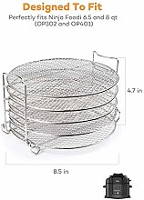 Adminitto88 Stainless Steel Barbecue Rack Grill