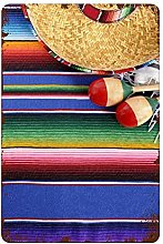 ADONINELP Metal Signs Mexican Culture Theme With