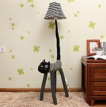 Adorable Meng Cat Floor Lamp Cartoon Creative