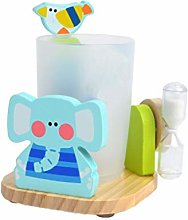 Adorable Toothpaste Toothbrush Holder Stand with