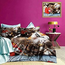 Adorise Bedding Set Kittens Mittens Baby Toys Boys