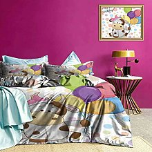 Adorise Bedspread Coverlet Set Baby Cow and