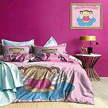 Adorise Duvet Cover Set Quilt Cover Baby Girl