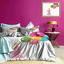 Adorise Quilt Cover Baby Girl Toddler Boys Bedding