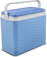 ADRIATIC Large 24 Litre Cooler Rattan Box Camping