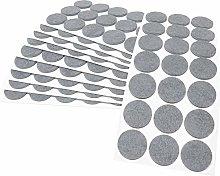 Adsamm® | 210 x self-stick felt pads | Ø