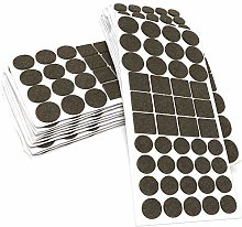 Adsamm® | 880 x self-stick felt pads | brown |
