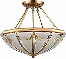 ADSIKOOJF Modern Flush Mount Pendant Light 3-light