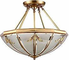 ADSIKOOJF Modern Flush Mount Pendant Light 4-light