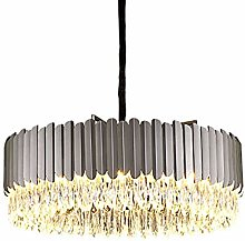 ADSIKOOJF Nordic Crystal Chandelier 8-lights