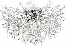 ADSIKOOJF Sputnik Firework Chandelier,LED Crystal