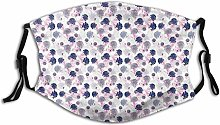 Adult Dust mask Face Cover,Repetitive Spring