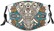 Adult Dust mask Face Cover,Spirit Animal Guardian