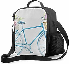 Adult Lunch Tote Cute and Cool Bicycle Kids Lunch
