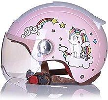 Adults Open-Face Motorbike Helmets Vintage