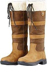 Adults Unisex Leather Eskimo Boots II (7 UK) (Dark