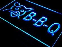 ADV PRO i499-b BBQ Pig Display Cafe Restaurant