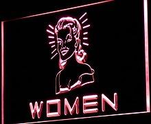 ADV PRO j113-r WOMEN Toilet Vintage Display Neon
