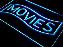 ADV PRO j293-b Movies Home Theater Night Lure Neon