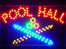 ADV PRO led038-r Pool Room LED Neon Light Sign