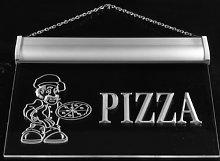ADV PRO Multi Color m055-c Pizza Shop Neon LED
