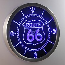 ADV PRO nc0315-b Route 66 Bar Beer Neon Sign LED