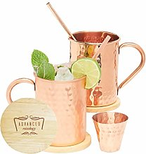 Advanced Mixology Authentic Moscow Mule Copper