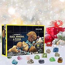 Advent Calendar 2020, Rocks Storage Gift Box, Kids