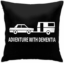 Adventure with Dementia Square Pillow Case Home