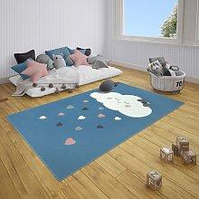 Adventures Hanse Home 104522 Lovely Sky Sky Blue